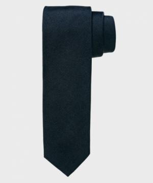 100% Zijde slim fit-5 cm breed logo