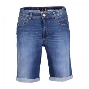 Jeans short logo